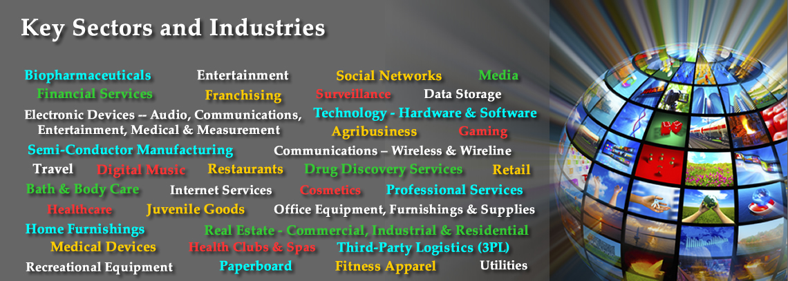 Conduit Consulting client key sectors and industries