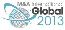 M&A International Global Award 2013