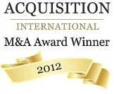 WINNER -- Post Acquisition Firm of the Year